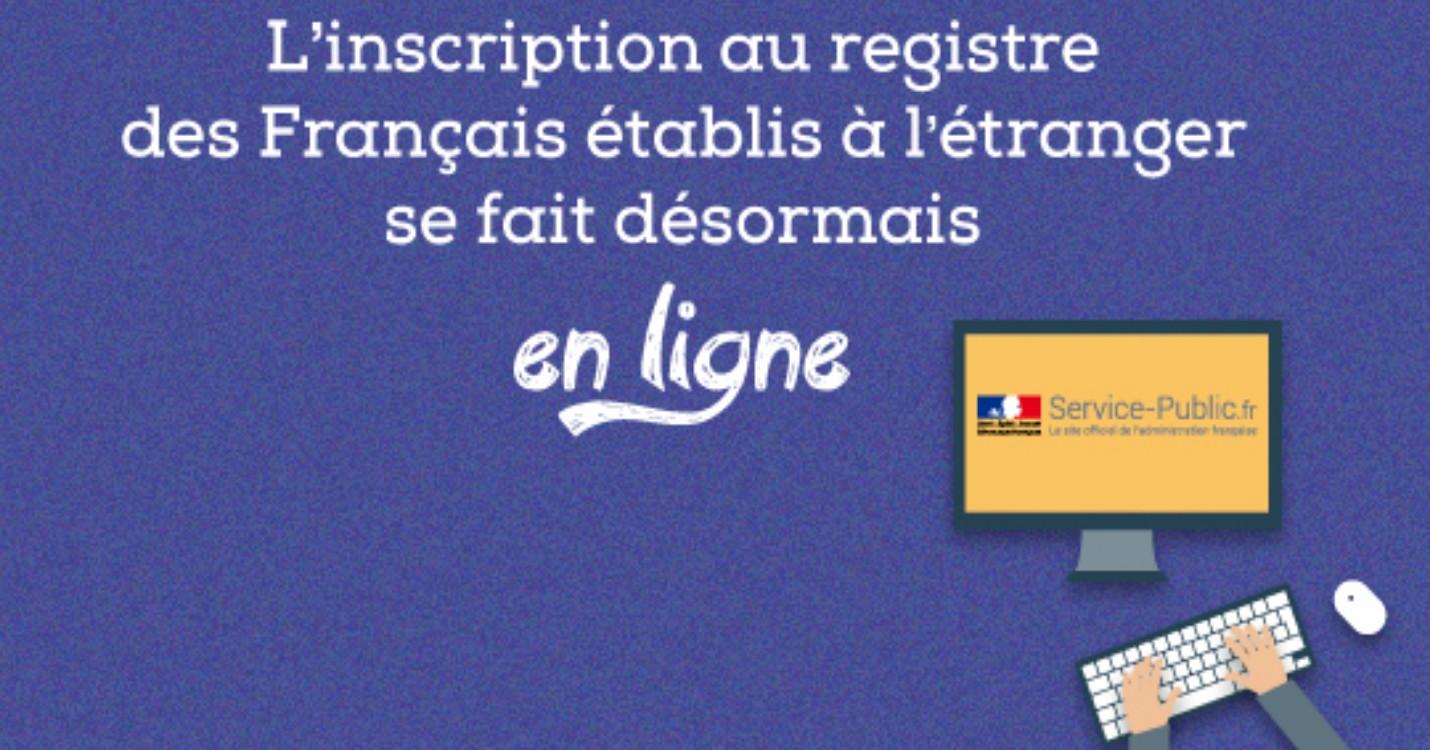 Inscription registre consulaire