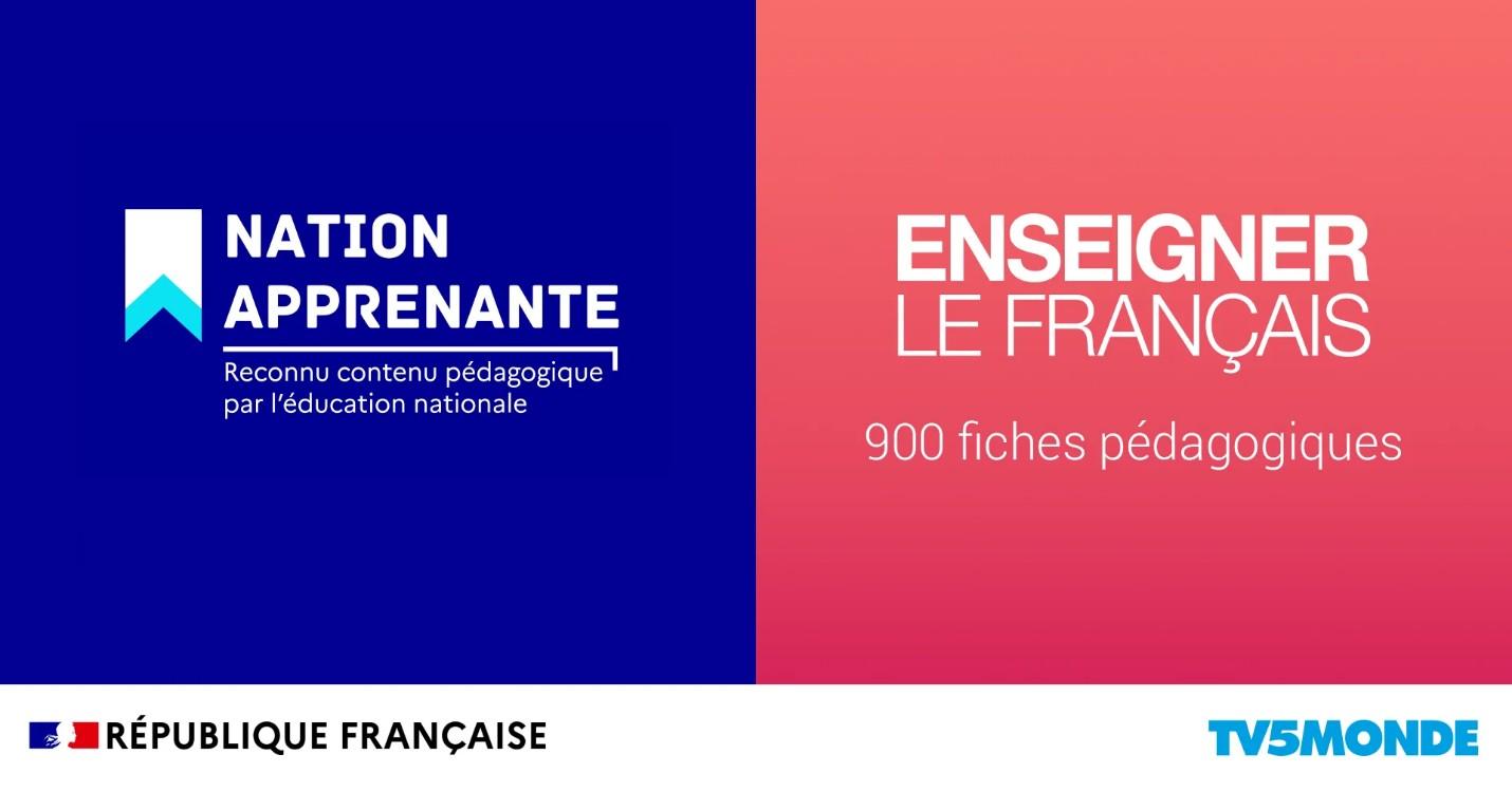 TV5MONDE : Opération « nation apprenante »