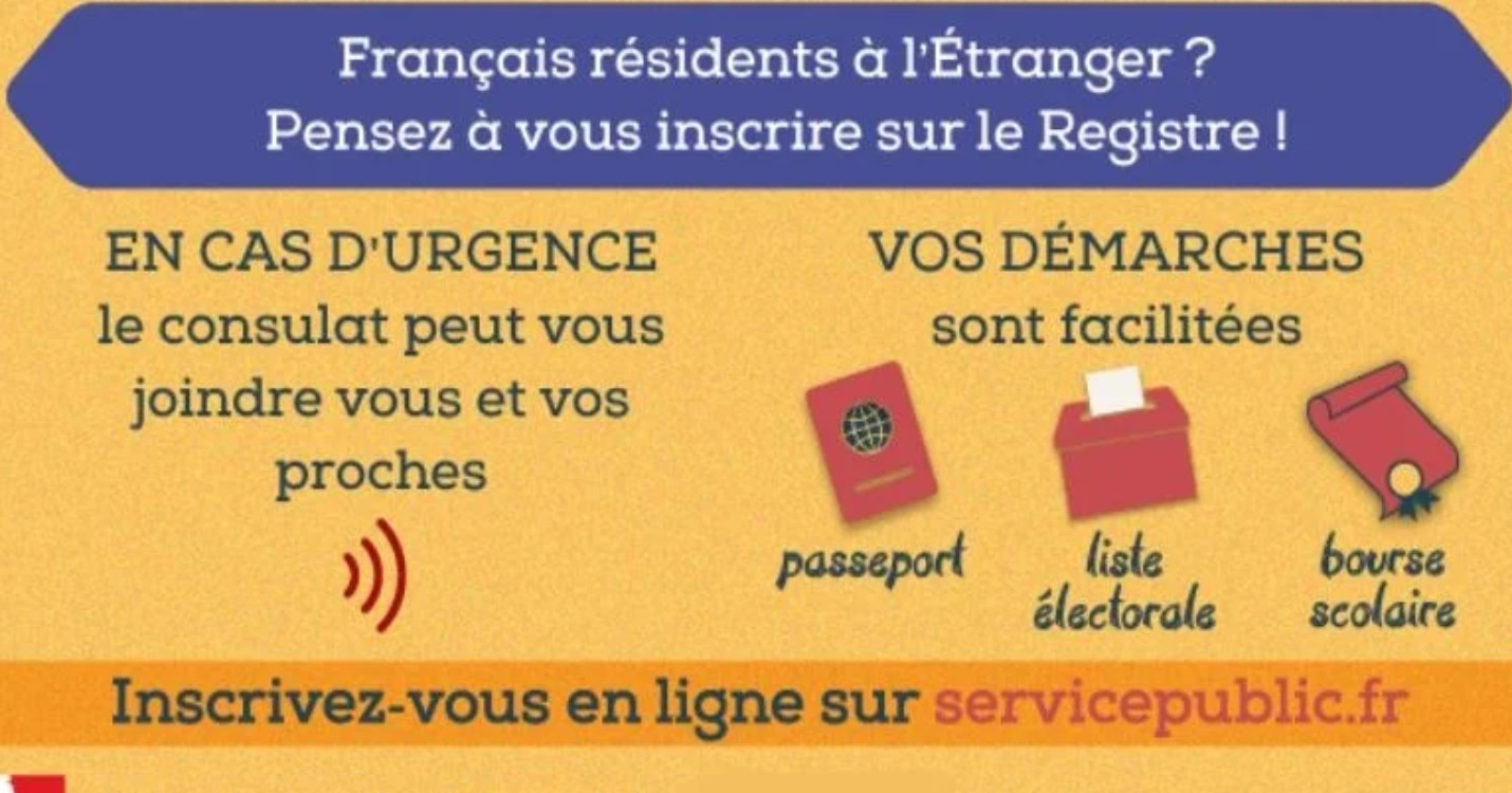 L'inscription au Registre des français établis hors de France
