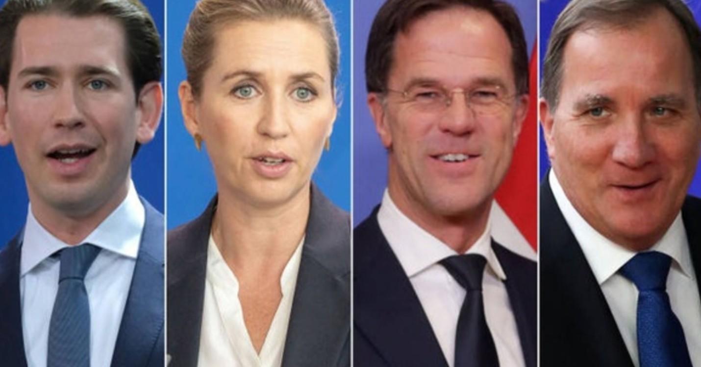 Les « quatre frugaux » présentent un contre-projet au plan de relance Merkel-Macron