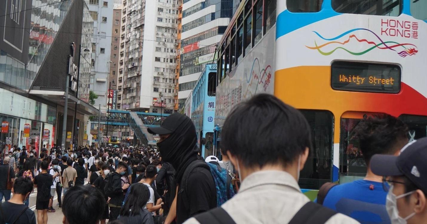 Loi sur la sécurité nationale pour le territoire, reprise des manifestations à Hong Kong
