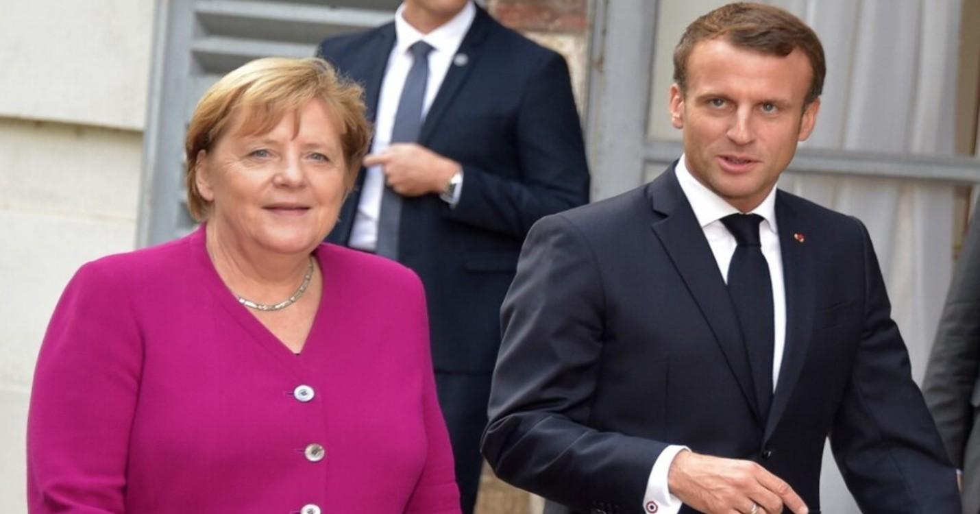 Merkel et Macron font preuve d'unité en vue d'un sommet européen crucial