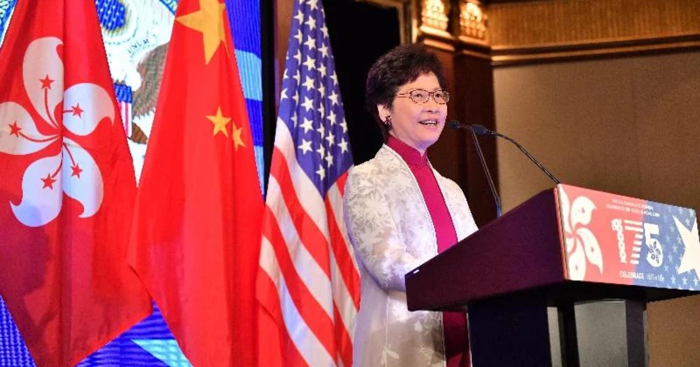 Les USA sanctionnent la Cheffe de l'exécutif de Hong Kong : les réactions.