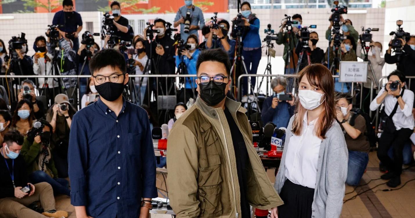 Joshua Wong, Agnes Chow et Ivan Lam en détention provisoire, lancement d'une sonde lunaire chinoise