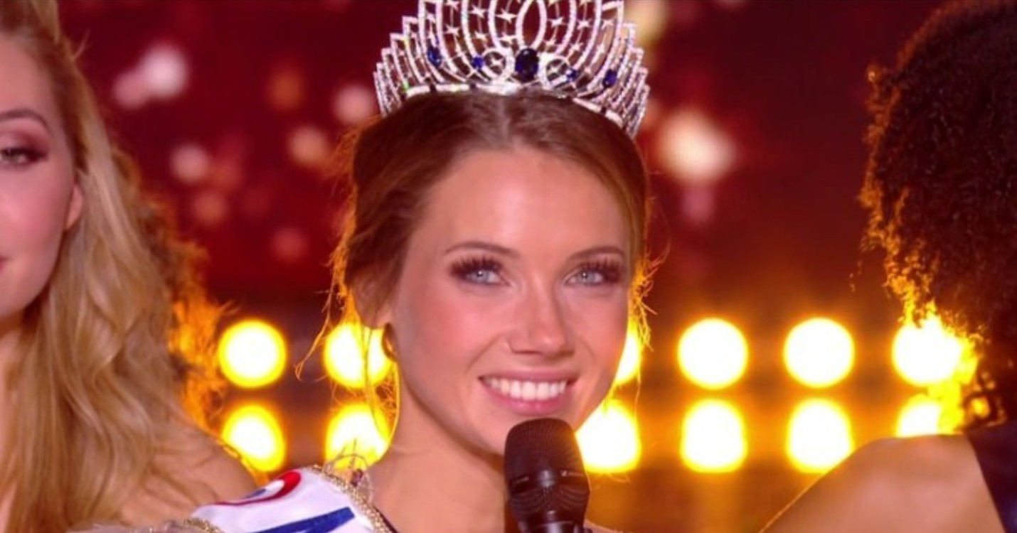 Miss Normandie, est élue Miss France 2021