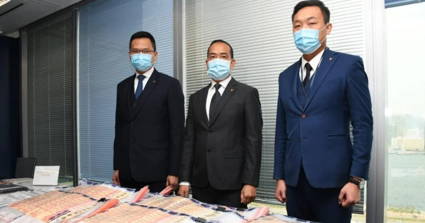 Démantèlement d'une affaire de blanchiment d'argent, réapparition de Jack Ma