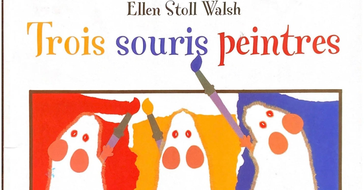 « Trois souris peintres », de Ellen Stoll Walsh