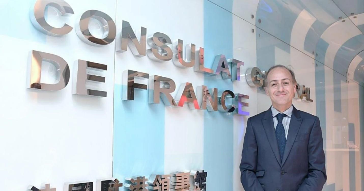 Un message du Consul général de France à Hong Kong et Macao, Alexandre Giorgini