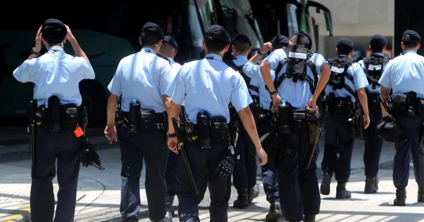 Forte présence policière à HK aujourd'hui, importante saisie de cocaïne à l'aéroport