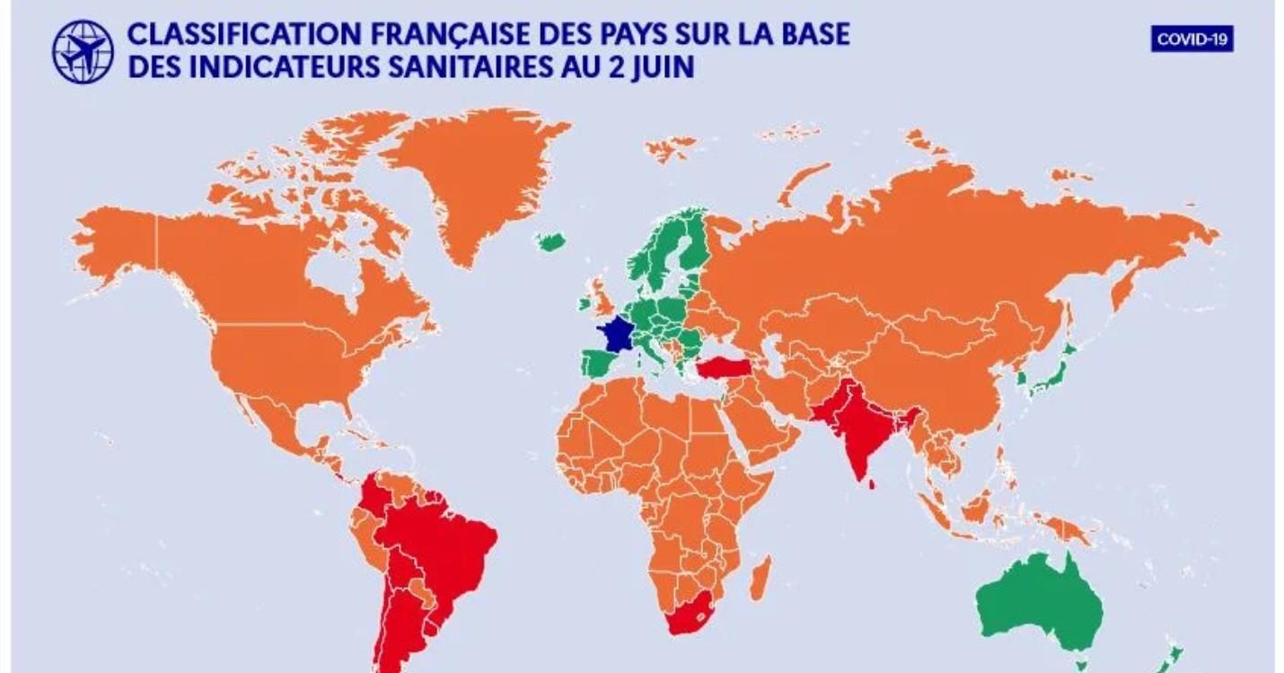 Nouvelles règles d'entrée sur le territoire français