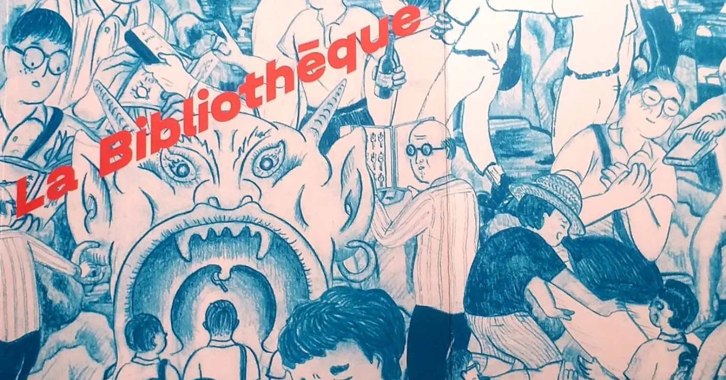 « La Bibliothèque », une BD signée Chihoi