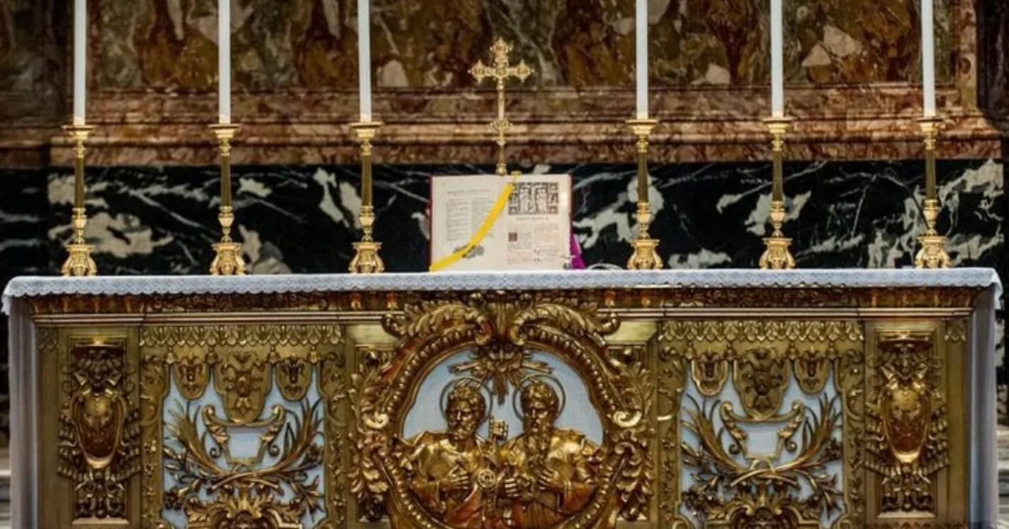Pape François et la messe d'avant Vat II