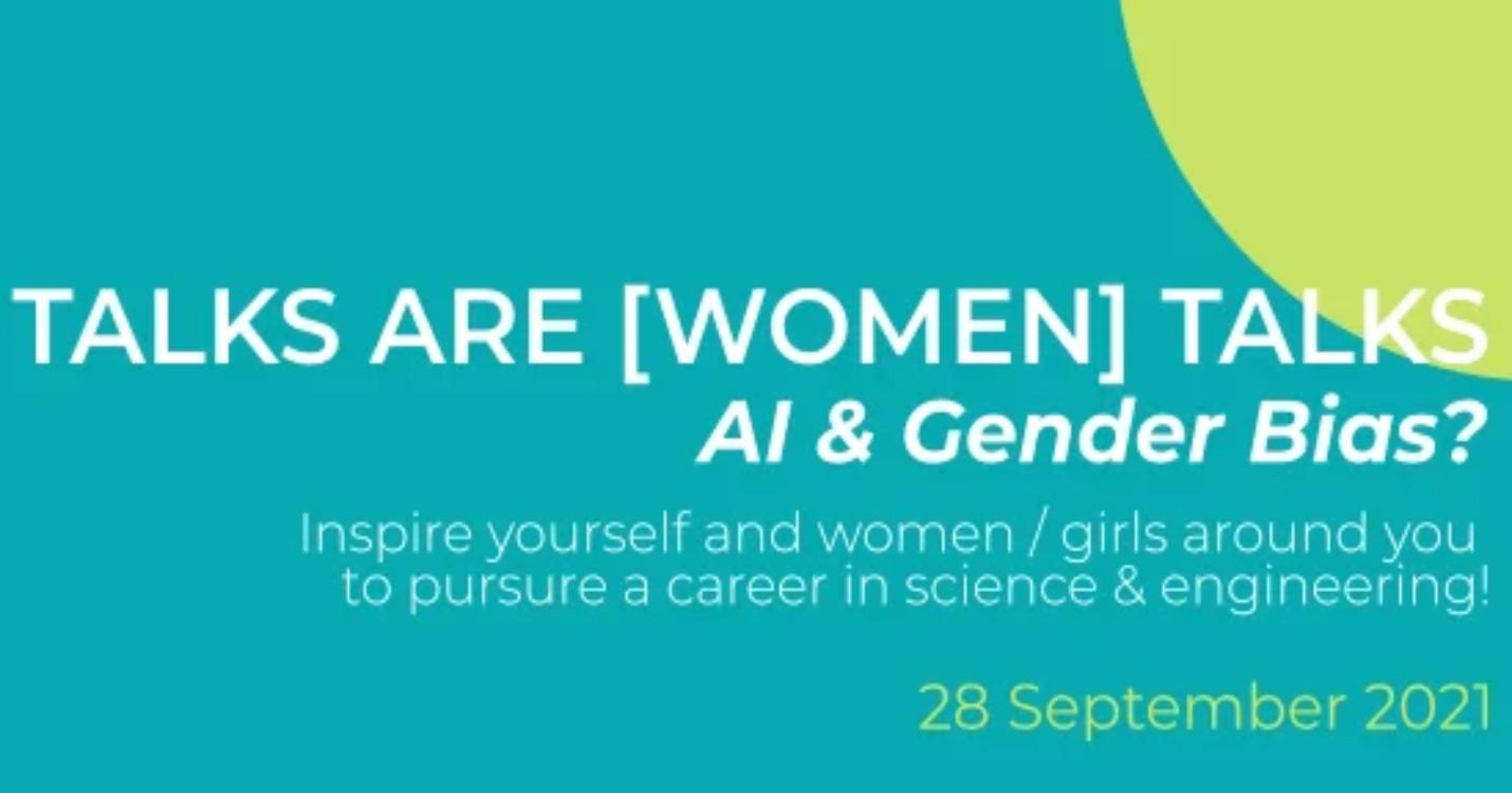 Science Talks are [Women] Talks #1 – Intelligence Artificielle et biais de genre ?