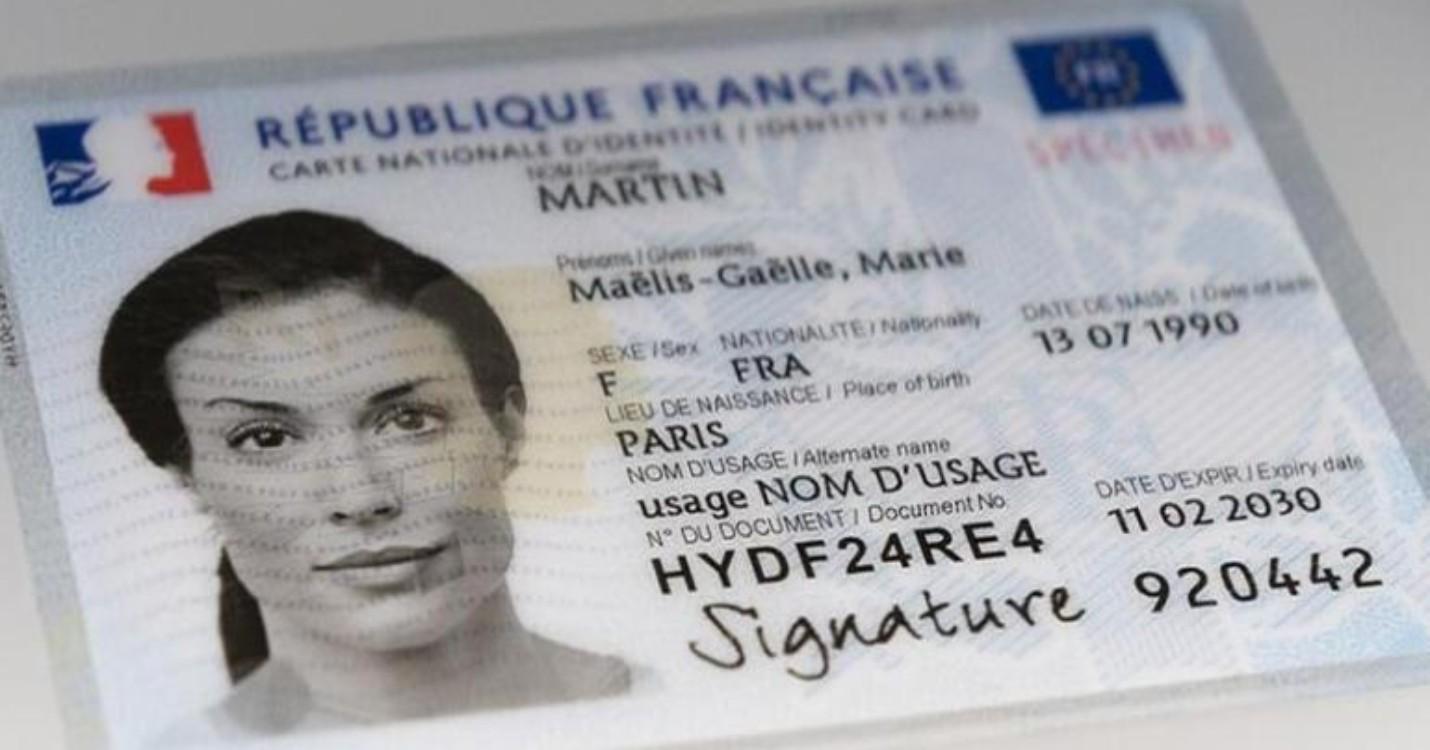 La nouvelle carte nationale d'identité