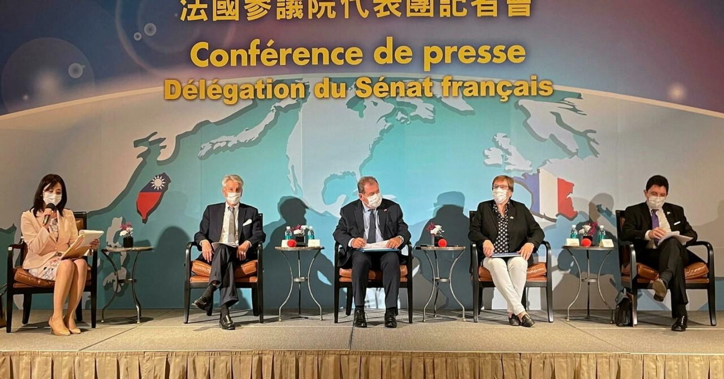 Visite de sénateurs Français à Taiwan, French Chamber : webinar destiné aux demandeurs d'emploi